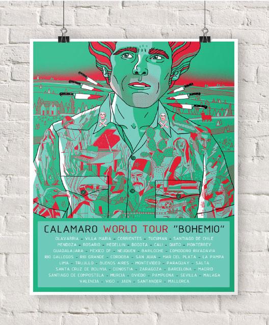 Poster Bohemio